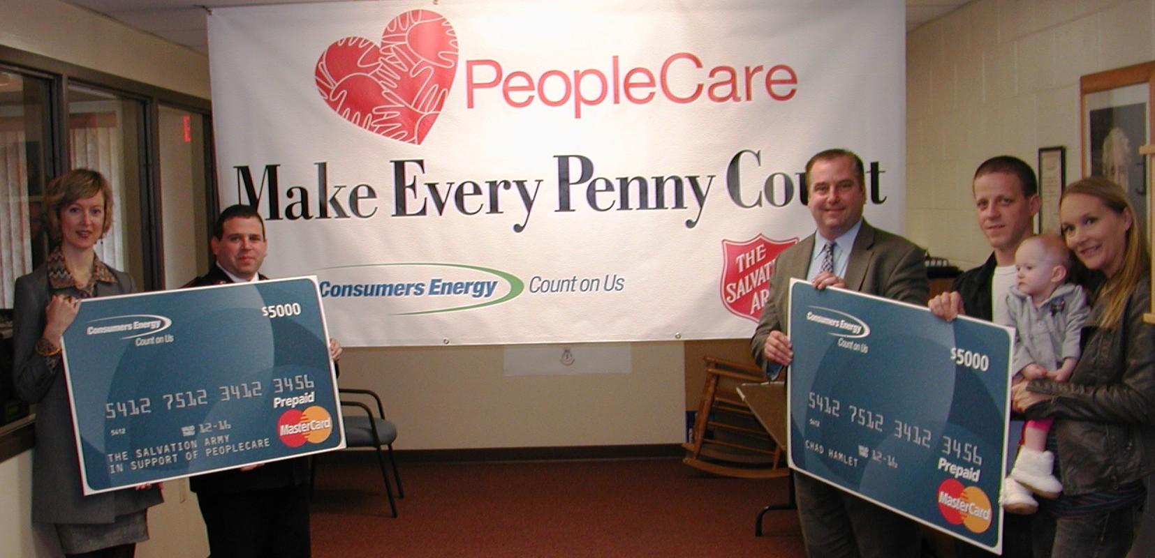 Peoplecare Program Receives 5 000 Contribution Through