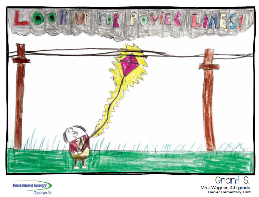 Calendar Drawing For Kids : Hazard hamlet consumers energy in your community