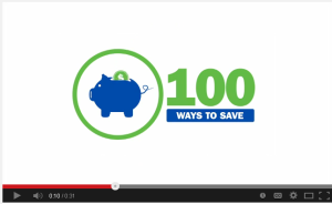 Click above to watch the video to learn ways to save energy at home.