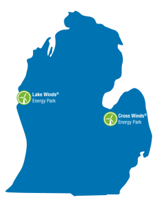 Consumers Energy expects to finish building Cross Winds Energy Park in Michigan's Thumb this year. The company opened Lake Winds Energy Park in Mason County in 2012.