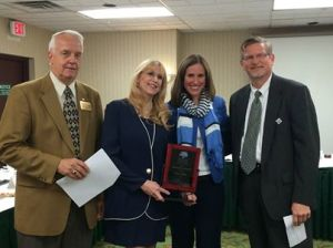 Second from left, Toni Fabus, Gatekeeper of the Year.