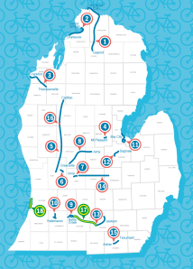 The Consumers Energy Foundation has donated $238,000 to 18 trail projects across Michigan's Lower Peninsula.
