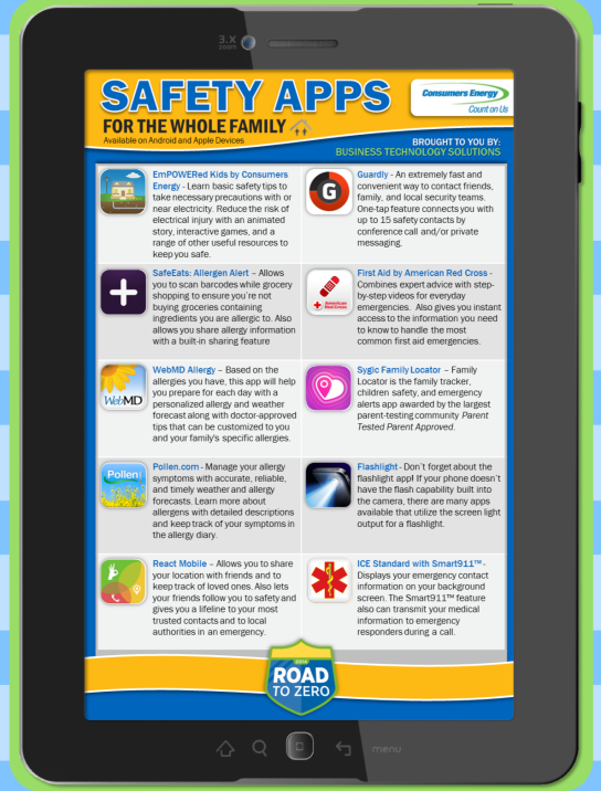 Download these free safety apps to keep your family and home prepared for any emergency.