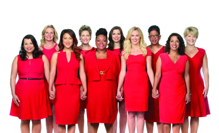 Photo from Amy Hobley, Go Red For Women Corporate Events Director