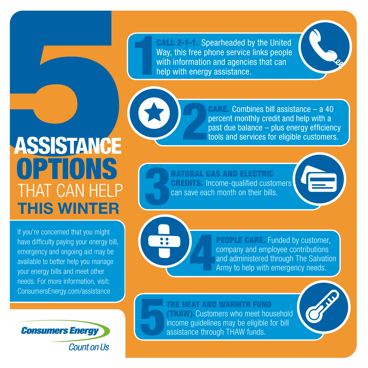 payment assistance programs: seek help with your energy bill