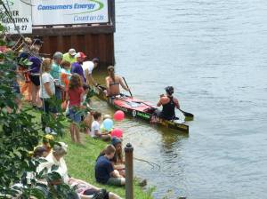 2014 AuSable River Canoe Marathon sponsored by Consumers Energy  Photo via AuSable River Canoe Marathon Facebook Page