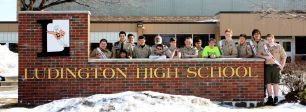 Celebrating 100 years of scouts at Ludington High School