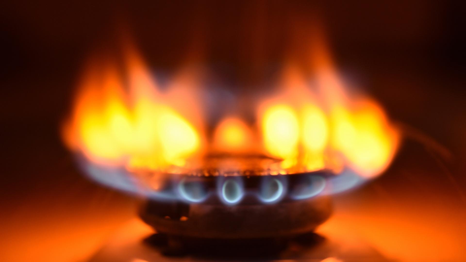 Danger Orange Yellow Stove Burner Flames Consumers