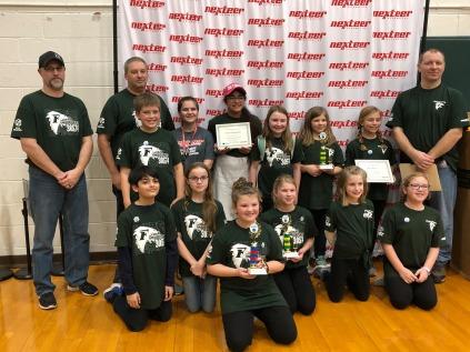 Freeland FLL 2019 District Awards